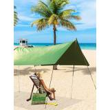 Newchic 10x10ft Waterproof Sunshade Tent Tarp Rain Fly Awning Outdoor Camping Hammock
