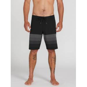 Volcom Men's Quarta Static Stoney Boardshort - Black  - BLACK - Size: 28