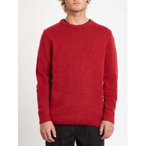 Volcom Men's Edmonder Pullover - RIO RED  - RIO RED - Size: Small