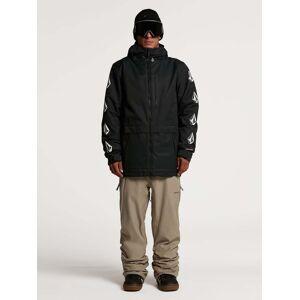 Volcom Men's Deadly Stones Insulated Jacket - Black  - BLACK - Size: Large