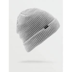 Volcom Men's Sweep Lined Beanie - Heather Grey  - HEATHER GREY - Size: Small