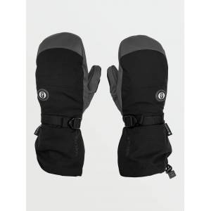 Volcom Men's 91 GORE-TEX Mitt - Black  - BLACK - Size: XL