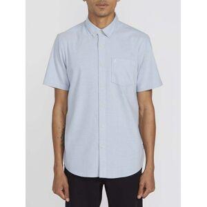 Volcom Men's Everett Oxford Shirt - Wrecked Indigo  - WRECKED INDIGO - Size: Medium
