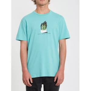 Volcom Men's Cinder Block T-shirt - Mysto Green  - MYSTO GREEN - Size: Medium