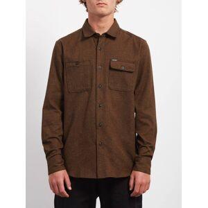 Volcom Hickson Update Shirt - Hazelnut  - HAZELNUT - Size: Small