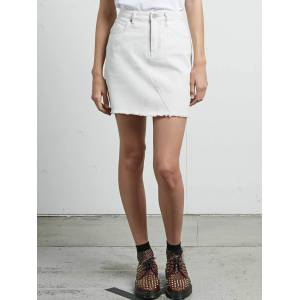 Volcom Stoned Mini Skirt - Vanilla Latte  - VANILLA LATTE - Size: L