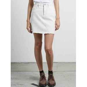 Volcom Stoned Mini Skirt - Vanilla Latte  - VANILLA LATTE - Size: Large