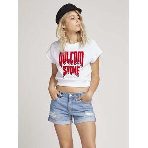 Volcom Drama Shift T-shirt - White  - WHITE - Size: Large