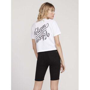 Volcom Women's Pocket Dial T-shirt - White  - WHITE - Size: XXL