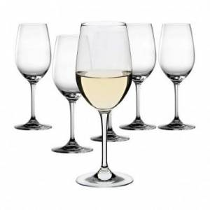 Dartington Crystal Six White Wine Glasses Box of 6