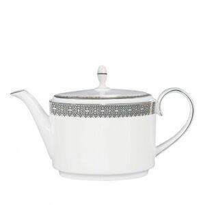 Wedgwood Vera Wang Lace Platinum Tea Pot