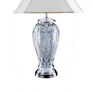 Heritage Irish Crystal Lighting Orchid Lamp