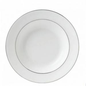Wedgwood Signet Platinum 20cm Soup Plate