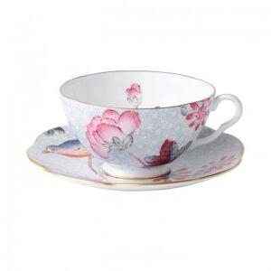 Wedgwood Cuckoo Tea Cup & Saucer Blue