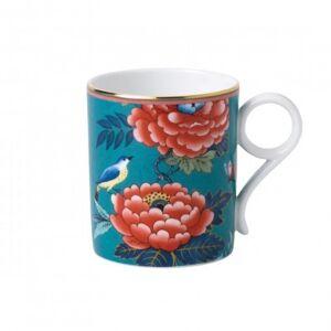 Wedgwood Paeonia Blush Green Mug