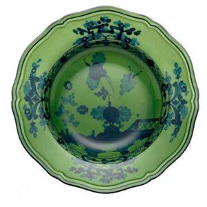 Richard Ginori Oriente Italiano Malachite 24cm Rim Soup Plate