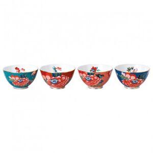 Wedgwood Paeonia Blush Set of 4 Bowls