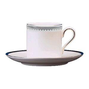 Wedgwood Vera Wang Grosgrain Coffee Cup and Saucer