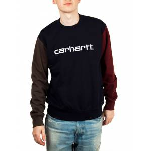 Carhartt WIP Carhartt Tricol Sweatshirt In Dark Navy  - Blue - Size: Small