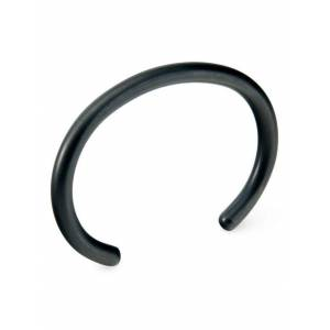 Craighill Uniform Round Cuff Large In Carbon Black  - Black
