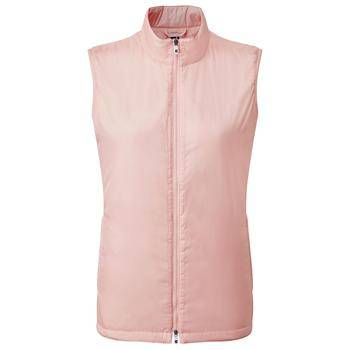 FootJoy Womens Lightweight Insulated Vest - Blush Pink