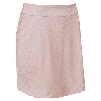 FootJoy Womens Interlock Printed Skort - Blush Pink