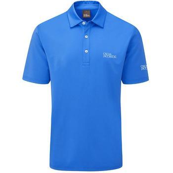 Oscar Jacobson Chap Tour Men's Golf Polo Shirt - Royal