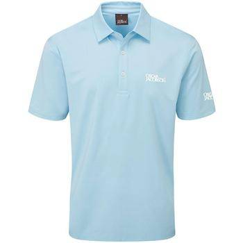 Oscar Jacobson Chap Tour Men's Golf Polo Shirt - Sky Blue