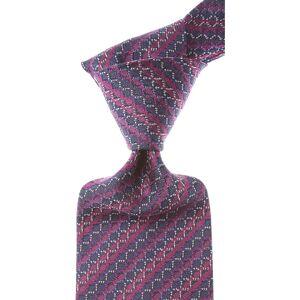Missoni Ties On Sale, Traffic Purple, Silk, 2019