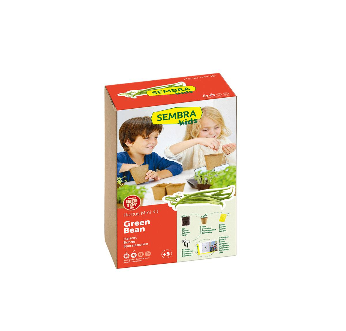 Green Beans Vegetable Garden Kit