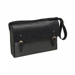 Toni GUY Grey & Black Leather Stylist Bag