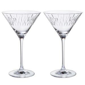 Dartington Crystal Dartington Limelight - Mitre Martini Pair