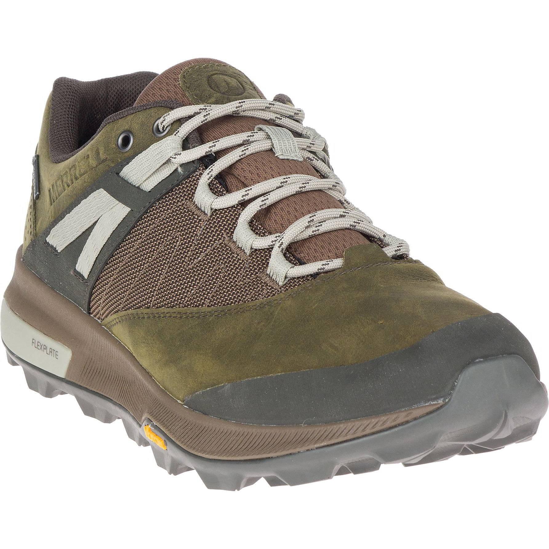 Merrell Mens Zion GTX Waterproof Walking Hiking Shoes Trainers - UK 10.5 - Green