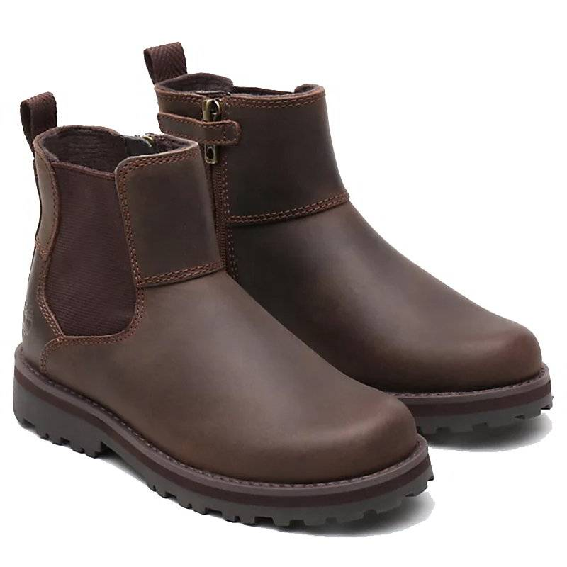 Timberland Courma Kid Chelsea Ankle Boot - Dark Brown - A28PY