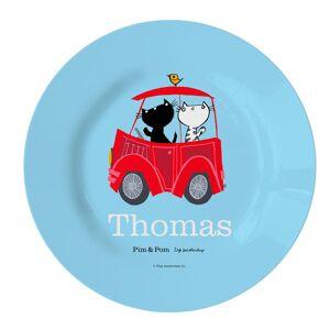 YourSurprise Pim & Pom Children's plate - Car (1)