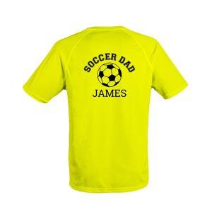 YourSurprise Men's sports t-shirt - Yellow - L