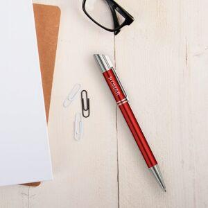 YourSurprise Viva Pens - Tess - engraved ballpoint pen - Red (left-handed)