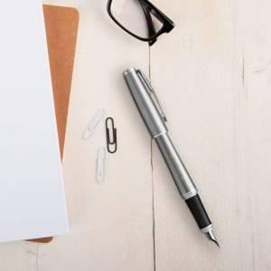 YourSurprise Parker - Urban - fountain pen - Silver (left-handed)