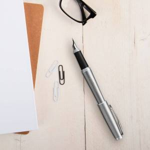 YourSurprise Parker - Urban - fountain pen - Silver (right-handed)