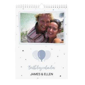 YourSurprise Personalised birthday calendar - A4