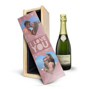 YourSurprise Champagne in printed case - René Schloesser (750ml)