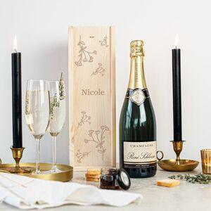 YourSurprise Champagne in engraved case - René Schloesser (750ml)