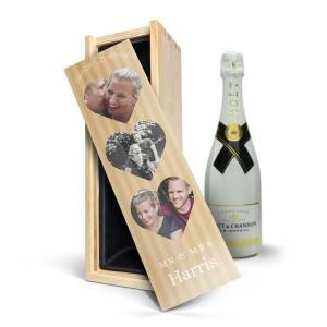 YourSurprise Champagne in personalised case - Moët & Chandon Ice Imperial (750ml)