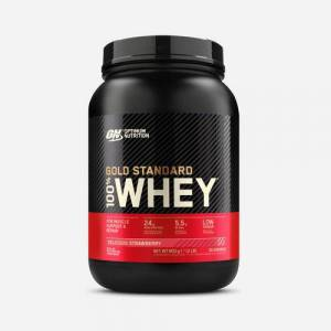 Optimum Nutrition Gold Standard 100% Whey Protein  - Size: 908 grams (30 Shakes)
