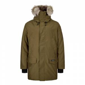 Canada Goose Langford Parka - Green  - Green - Size: Large