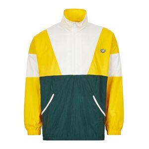 Adidas Track Top - Yellow / White / Green  - White - Size: Medium