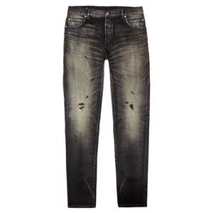 Balmain Jeans Slim Selvedge - Black  - Black - Size: 30