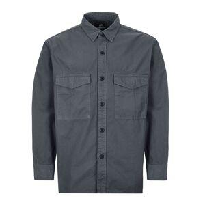 Edwin Shirt Big - Grey  - Grey - Size: Medium