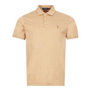 Ralph Lauren Polo Shirt - Camel  - Brown - Size: Small