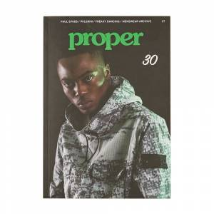 Proper Mag - Issue 30  - Black - Size: One Size